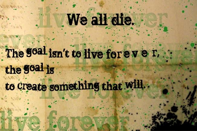 We Die.....