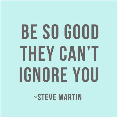Be Good.