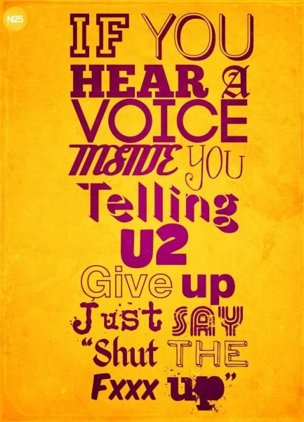 A Voice.