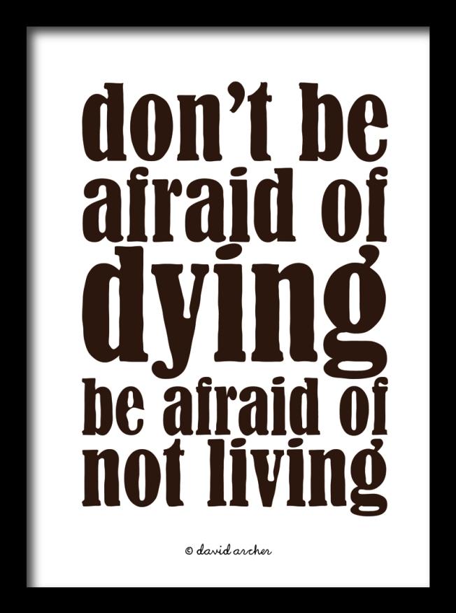 Afraid.
