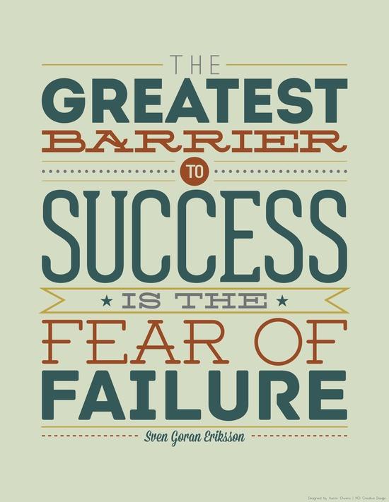 Barriers. Failure.