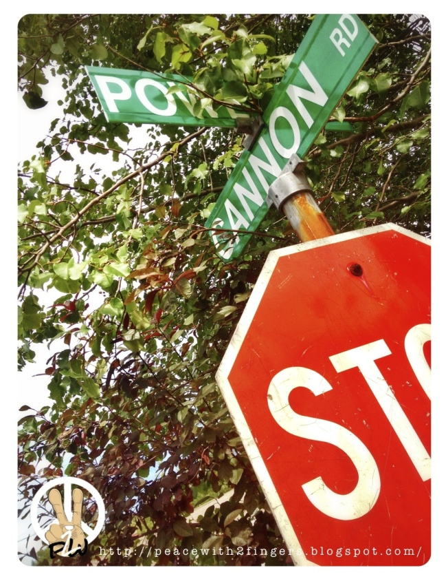 Stop!...@ Cannon Rd.