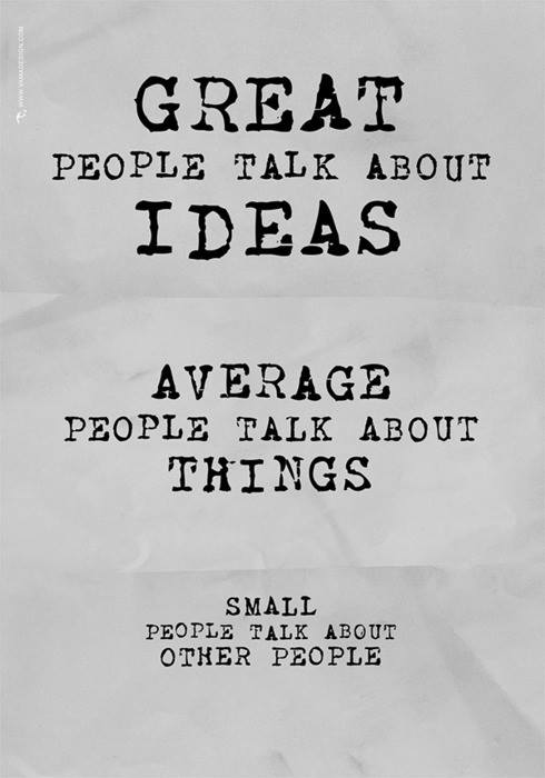 Ideas, Things & Other People.
