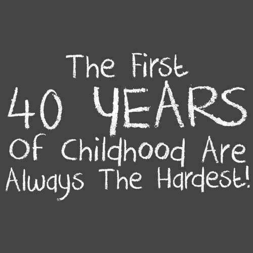 40 Years.